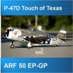 P-47D ARF 50 EP-GP Touch of Texas